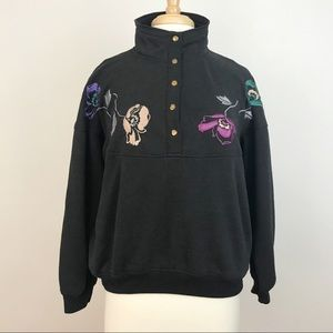 Vintage Embroidered Sweater